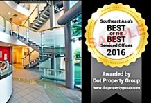 """Southeast Asia Best of the Best Serviced Offices in Southeast Asia 2016"""" in Southeast Asia, property awards,"""