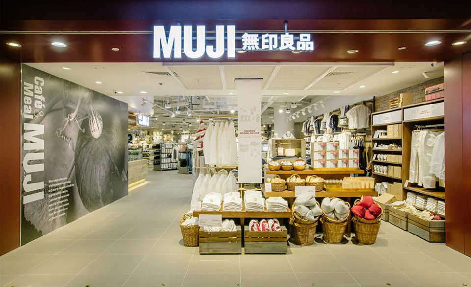 Muji has developed a strong following in SE Asia with stores in Singapore, the Philippines, Malaysia, Thailand and Indonesia