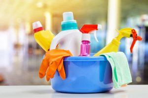 Cleaing items for cleaning in Asia