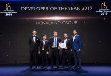 Novaland Developer of the Year 2019