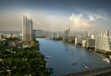Magnolias Waterfront Residences tallest buildings in Thailand