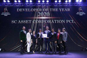 SC Asset wins Thailand Property Award