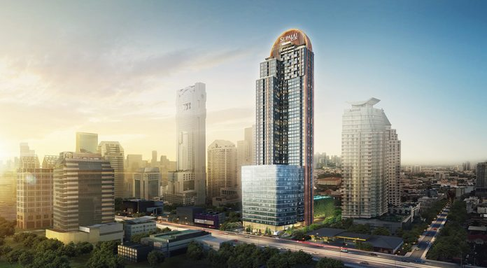 Sathorn's newest residential icon