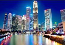 Singapore office rents