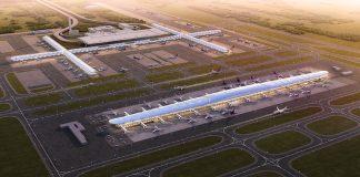 Suvarnabhumi Airport expansion concourse