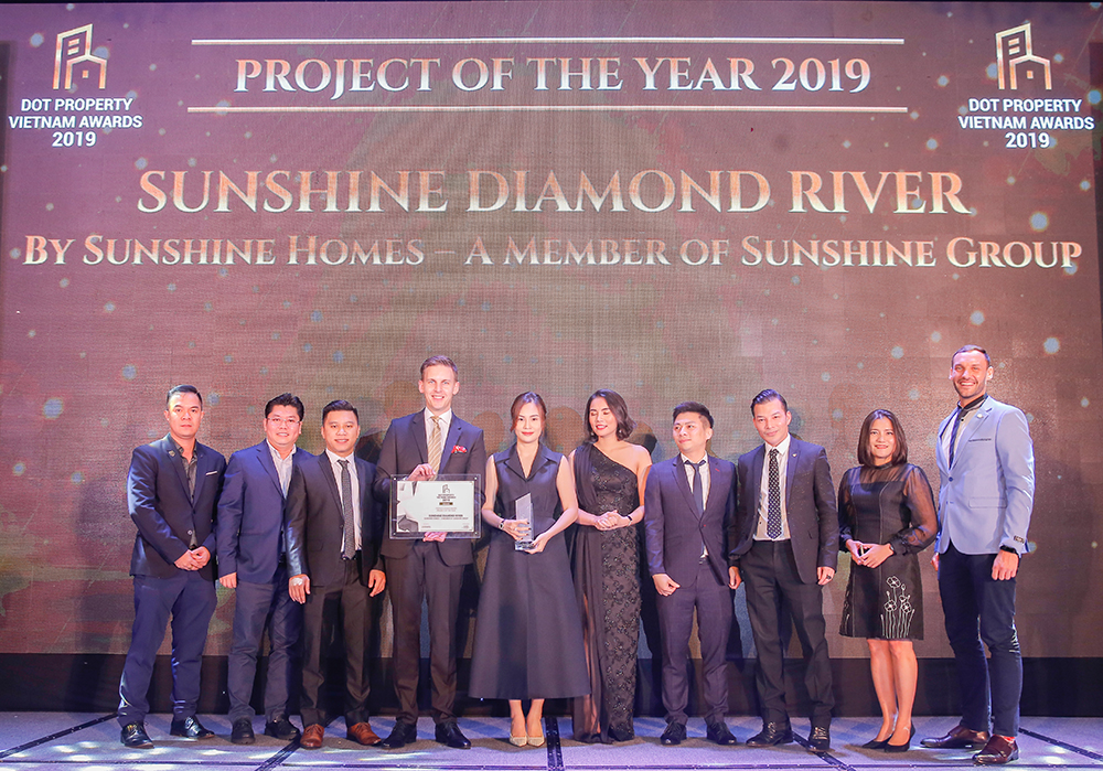 Sunshine Diamond River from Sunshine Homes – A Member of Sunshine Group took home the coveted People's Choice award along with two other honours