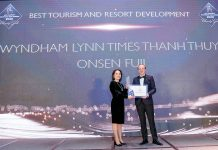 Best Tourism and Resort Development - Wyndham Lynn Times Thanh Thuy