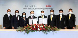 One Bangkok and SCG Thailand