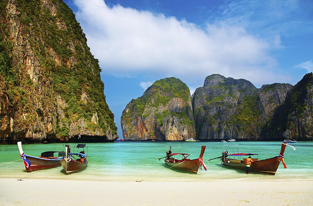 Maya Bay Koh Phi Island Thailand