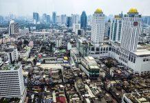 Landscape view of Bangkok,Petchaburi area.Thailand-Property.com