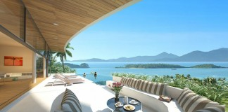 The Ridge luxury private pool villas for sale in Koh Samui overlooking the ocean.Thailand-Property.com