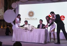 Magnolia and TRUE corp signed a collaboration contract today in Bangkok. Thailand-Property.com