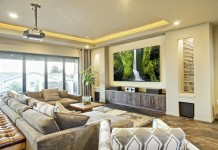 Home Theater in New Modern House. Thailand-Property.com