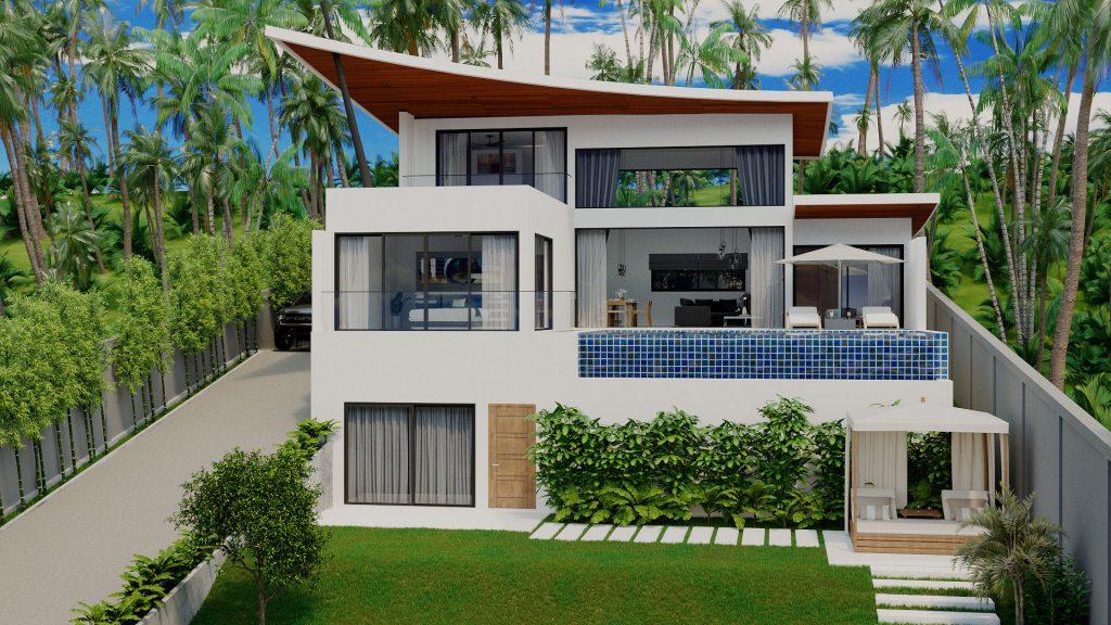 Samui villa for sale the Green Place
