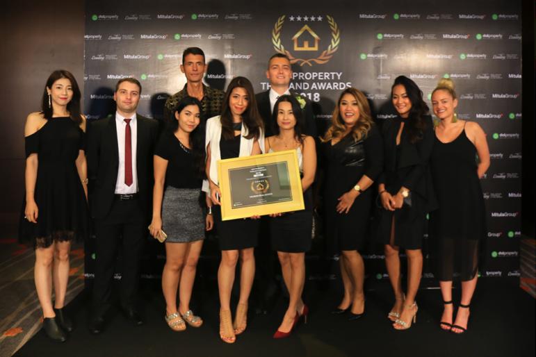 Vauban Real Estate wins Dot Property Thailand Award 2018