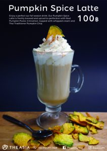 Bangkok Pumpkin Spice latte