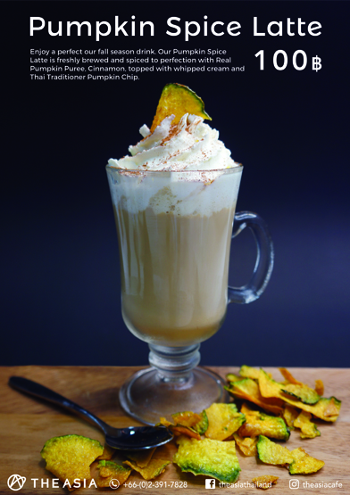 Autumn in Bangkok: places you can find a pumpkin spice latte