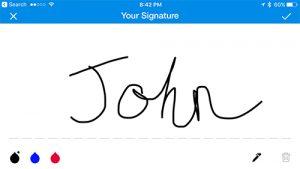 Sign Easy app