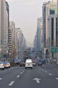 Yeoksam-dong Gangnam neighbourhood