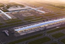 Suvarnabhumi Airport expansion concourse