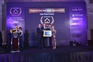 Ernie Draper, centre left, notes Northeast Thailand tourism is set to grow