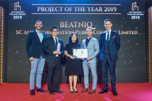 """BEATNIQ from SC Asset won the People's Choice Award for """"Project of the Year"""" in Thailand"""