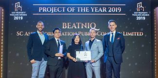 Thailand People's Choice Award for Project of the Year 2020