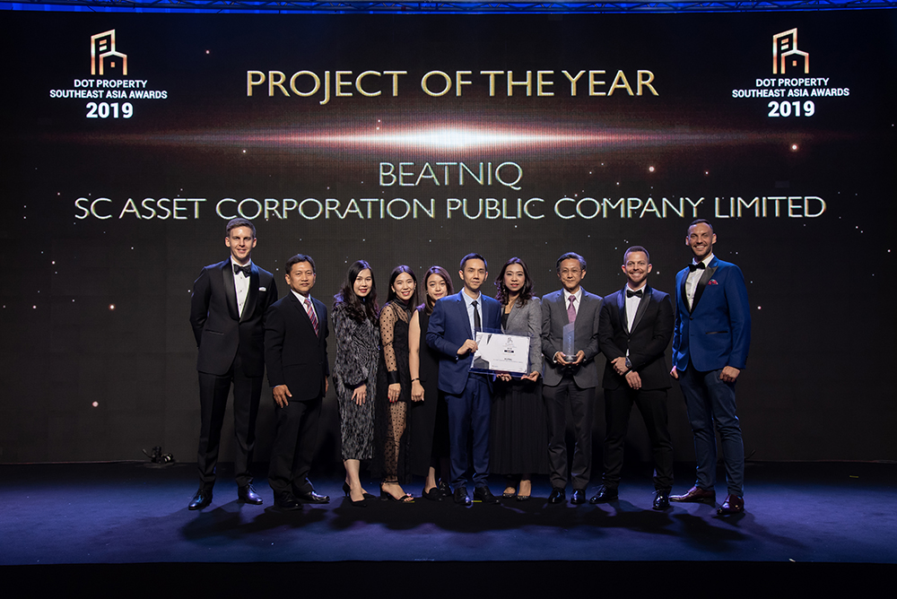 the very first People's Choice Award for Project of the Year Southeast Asia