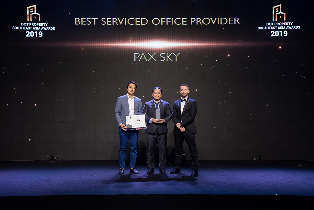 PAX SKY serviced office