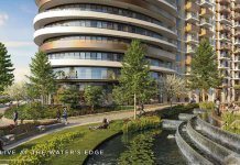 White City Living, Water Gardens