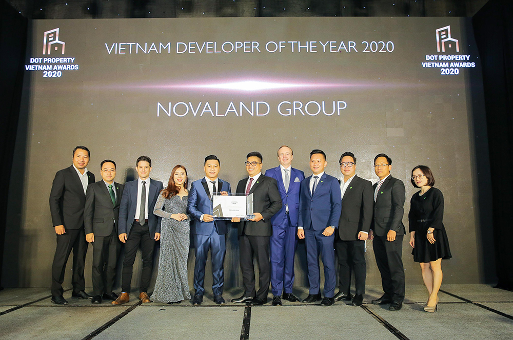 In additional to winning Developer of the Year 2020, Novaland won Best Sustainable Residential Development for Aqua City