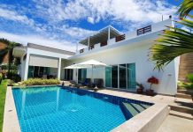 luxurious Hua Hin pool villa Sivana Gardens