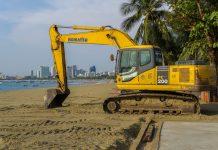 Pattaya Beach will undergo landscape redevelopment
