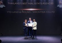 Thailand's Best Real Estate Agencies 2020 winners
