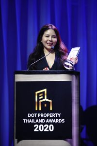 Khun Pitchakorn Meesak at the Dot Property Thailand Awards 2020