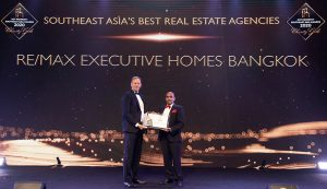 RE/MAX Executive Homes won Southeast Asia's Best Real Estate Agencies at the Dot Property Southeast Asia Awards 2020