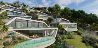 Avant Garden is nestled amongst the hills of northern Samui overlooking the sea