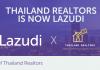 Thailand Realtors is now Lazudi