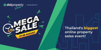 Thailand's biggest online property sales event in 2021 join the Dot Property 48 Hour Mega Sale