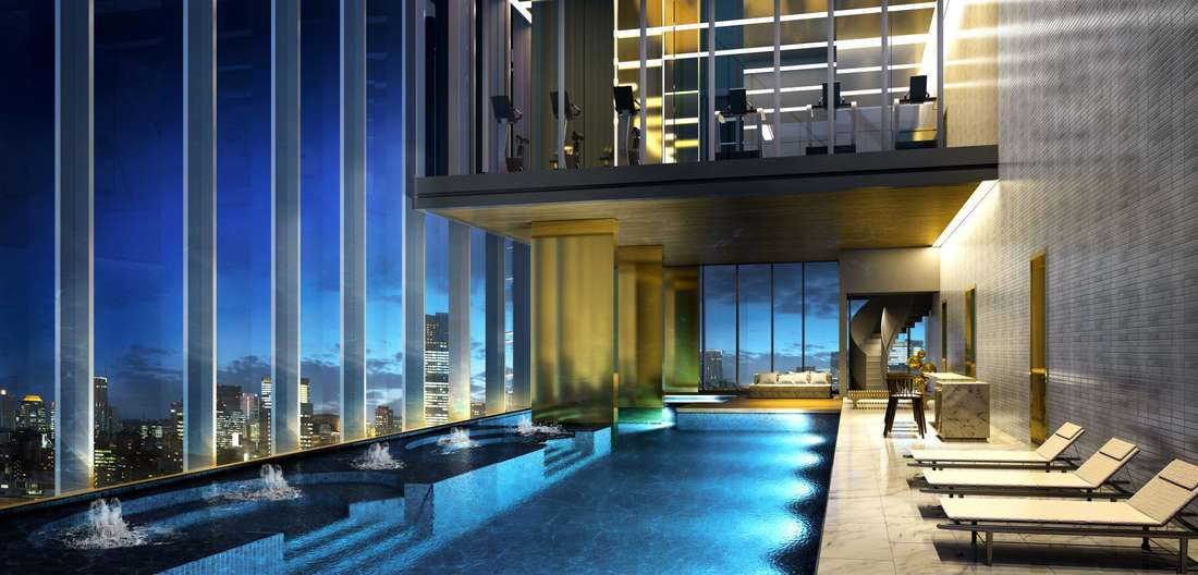 Enjoy an elevated lifestyle in central Bangkok