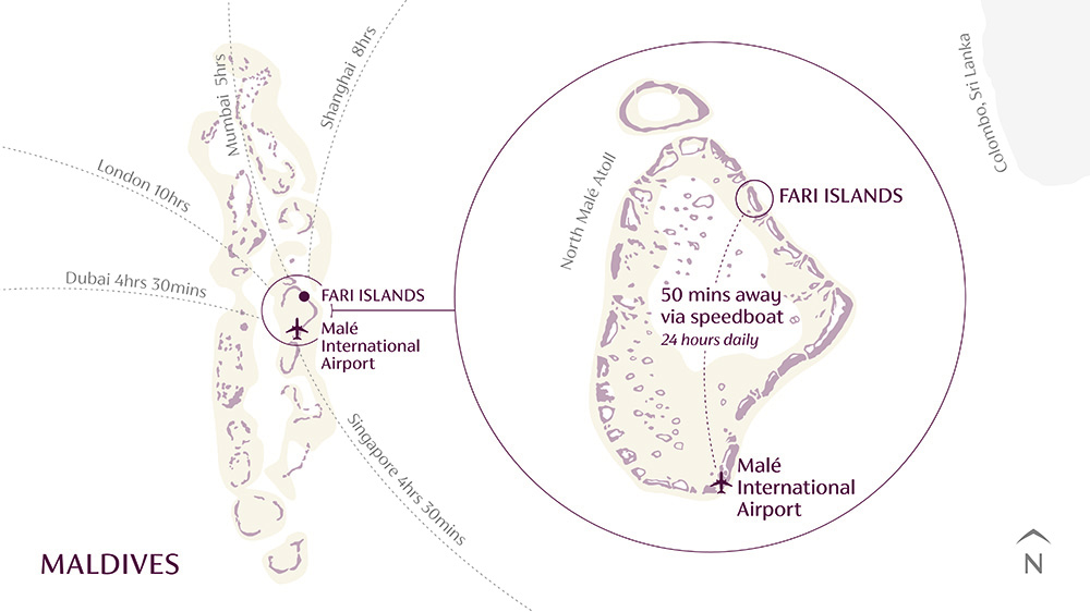 Map of Fari Islands