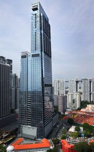Guoco Tower tallest buildings in Singapore