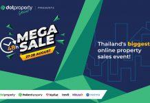 Thailand's biggest online property sales event in 2021