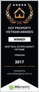 Giải thưởng Sàn giao dịch bất động sản tốt nhát việt Nam
