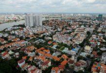 Các dự án bất động sản ở Bình Thạnh, TP.HCM. Ảnh TỰ TRUNG