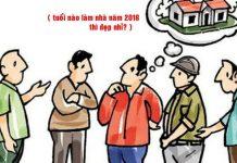 tuổi nào nên động thổ xây nhà năm 2018