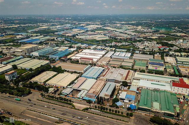 Khu công nghiệp Tân Tạo. (Ảnh: Quỳnh Trần)