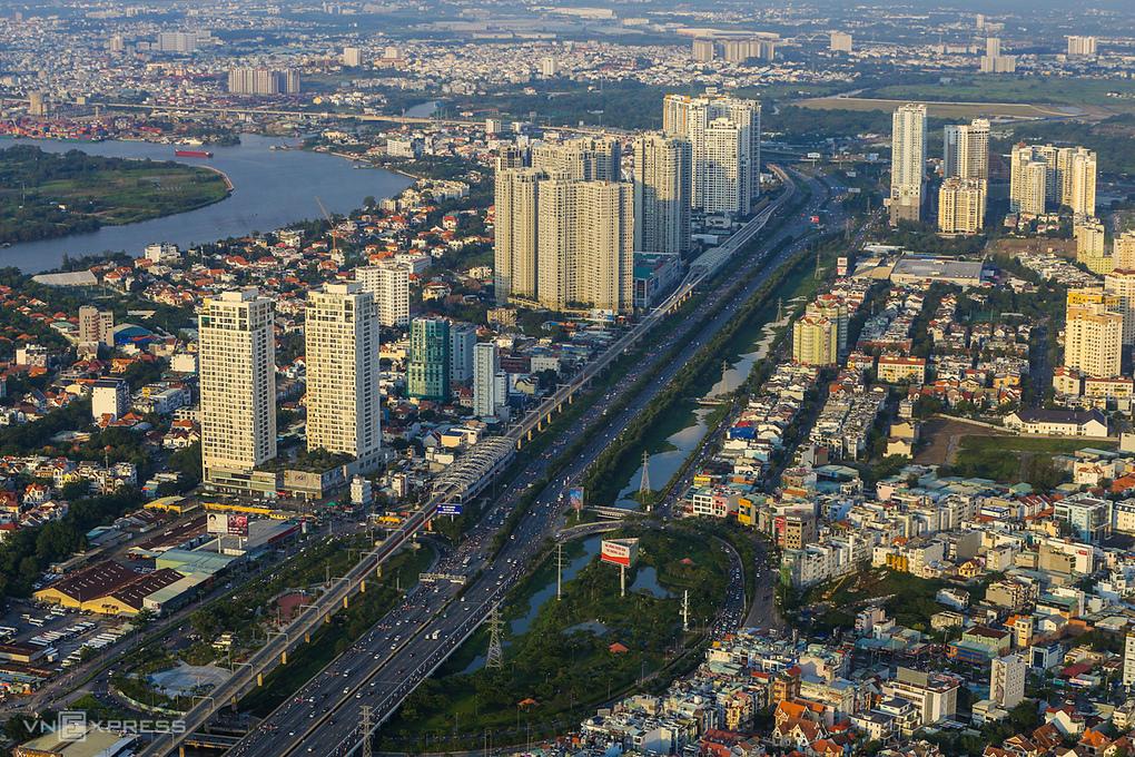 Thị trường bất động sản TP Thủ Đức. Ảnh:Quỳnh Trần.