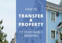 Transfer property to a family member