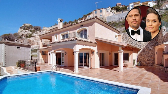 A Look At Angelina Jolie And Brad Pitt 39 S House In Spain